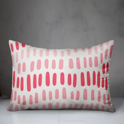 Mccool Abstract Dots Indoor/Outdoor Lumbar Pillow by Wrought Studio Best #1