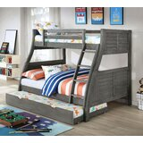 Jauregui Twin Over Full Bunk Bed by Harriet Bee