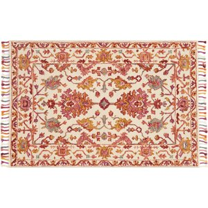 Rana Pink/Orange Area Rug