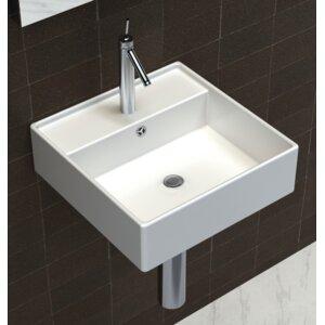 Home Etc 41 cm Wandbefestigtes Waschbecken