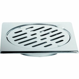 AGM Home Store Steel Floor Grid Shower Drain