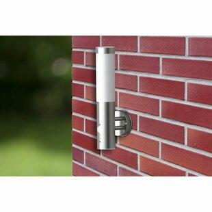 Hessler Outdoor Wall Light With Motion Sensor By Brayden Studio