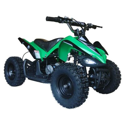 MotoTec 24V Battery Powered Ride-On Big Toys Color: Green