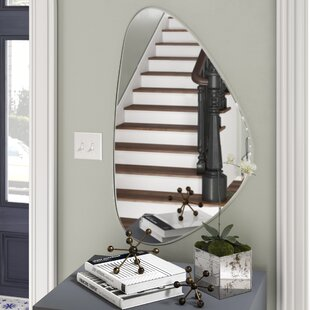 Check Prices Cashion Frameless Wall Mirror By George Oliver