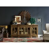 Gallucci Solid Wood TV Stand for TVs up to 92 by Canora Grey