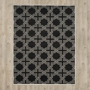 McArthur Black/Ivory Indoor/Outdoor Area Rug