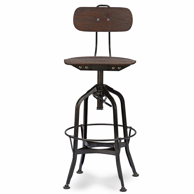 Fine Baxton Studio Adjustable Height Swivel Bar Stool Uwap Interior Chair Design Uwaporg