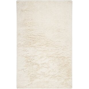 Read Reviews Loyce Hand Woven Wool White Area Rug ByEbern Designs