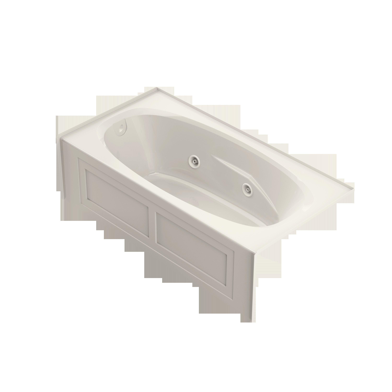 Jacuzzi Amiga 72 X 36 Drop In Whirlpool Bathtub Perigold