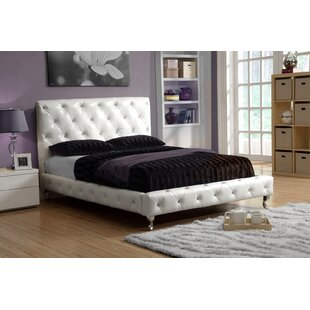 Zaida Upholstered Panel Bed