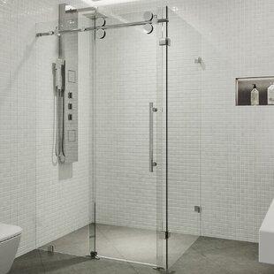 Affordable Price Winslow 46.5 x 74 Rectangle Sliding Shower enclosure ByVIGO