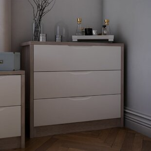 Cadena 3 Drawer Chest Of Drawers By Mercury Row