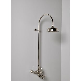 Strom Plumbing by Sign of the Crab Thermostatic Exposed Shower Set with with Lever Handle