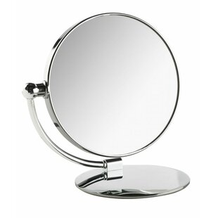 Boswell Moon Folding Makeup/Shaving Mirror By Charlton Home