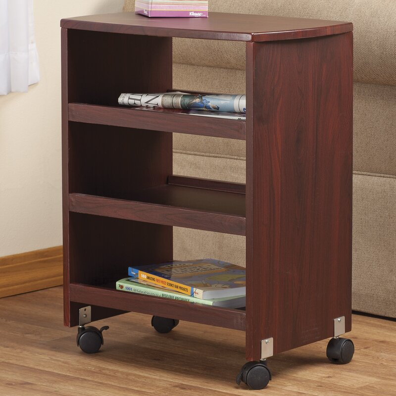 Multipurpose Rolling End Table