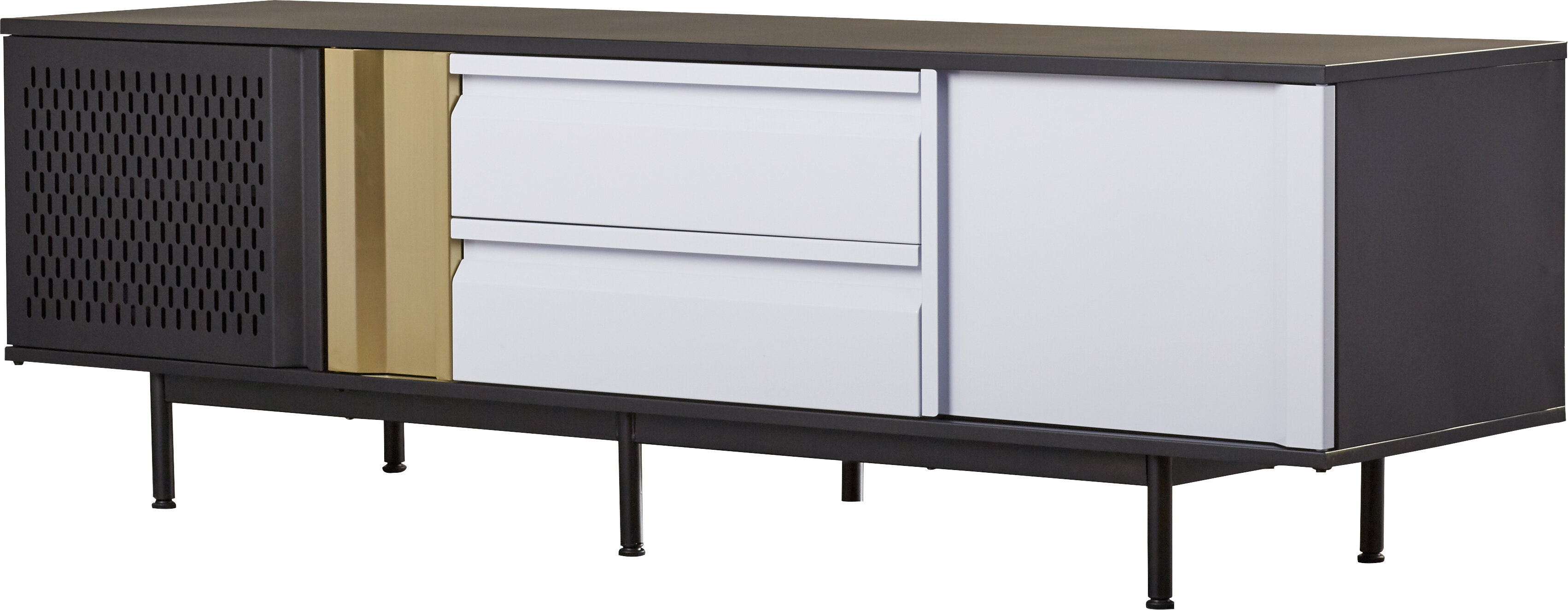 Cutlip 2 Door Credenza on consoles and credenzas, made in usa modern credenzas, modern sideboards with sliding door, country style credenzas, industrial modern credenzas, post modern credenzas, modern sideboards and hutches,