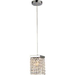 Warehouse of Tiffany Jehra 1-Light Crystal Pendant