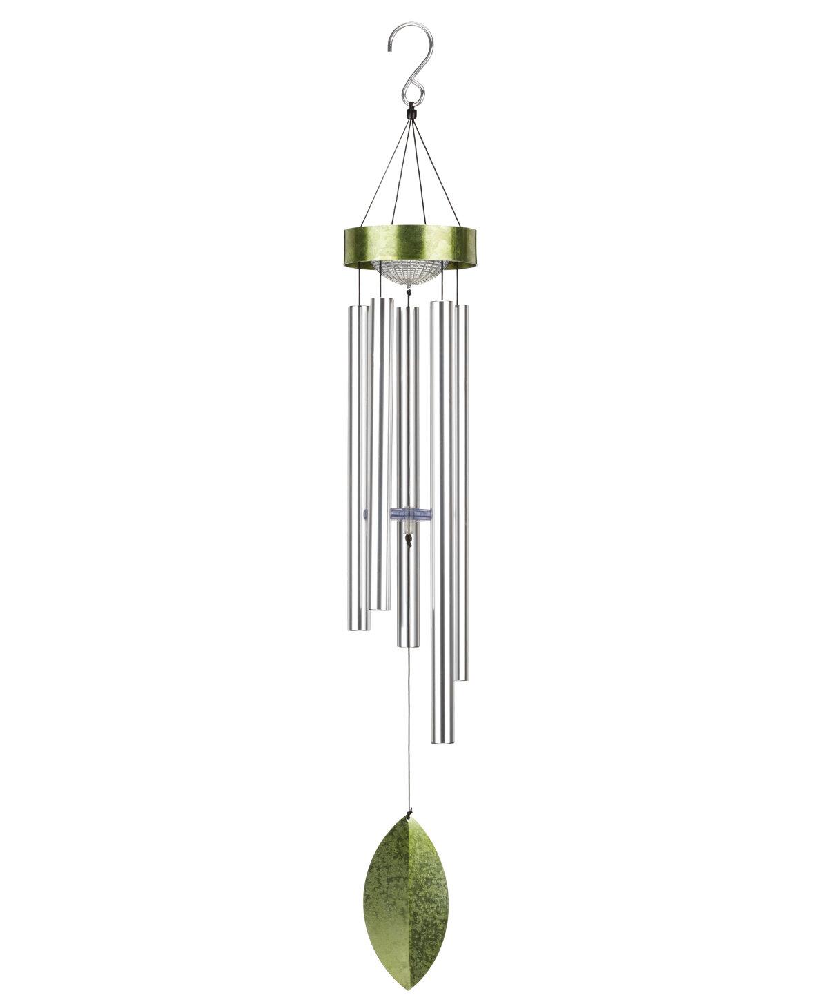 Regal Art Gift Led Solar Wind Chime Wayfair