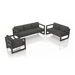 Remi 3 Piece Sofa Seating Grou..