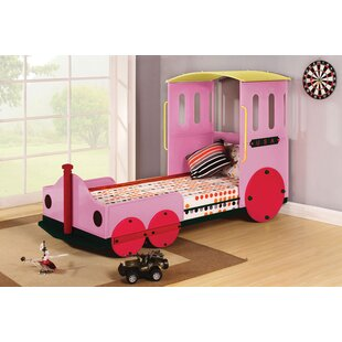 Edenburg Contemporary Twin Car Bed by Zoomie Kids