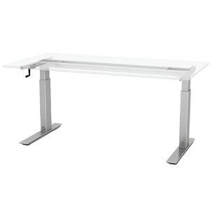 Q Crank Rectangular Standing Desk Base
