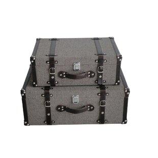 Attrayant Decorative Storage Suitcase | Wayfair
