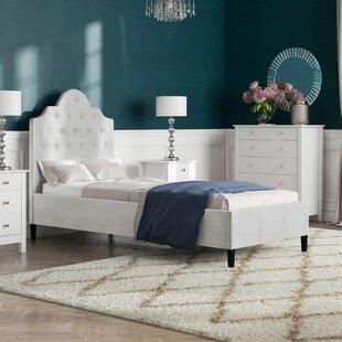 Iolite Upholstered Bed Frame By Fairmont Park