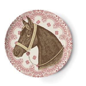 "Ranchero 9"" Melamine Side Salad Plate 4 Piece Set (Set of 4)"