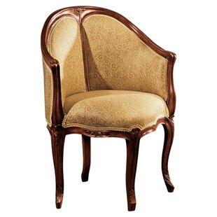Louis XV Faultily DE Bureau Barrel Chair by Design Toscano