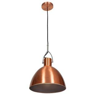 Damion Industrial 1 Light Mini Pendant