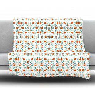 Beau Italian Kitchen Orange Throw Blanket