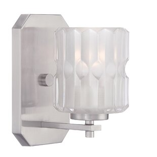 Price Check Valeta 1-Light Armed Sconce By Designers Fountain