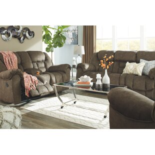 Enid Reclining Configurable Living Room Set