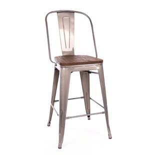 Herrington Adjustable Height Swivel Bar Stool By Orren