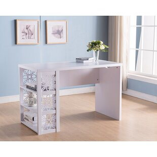 Tavion Wooden Desk by House of Hampton
