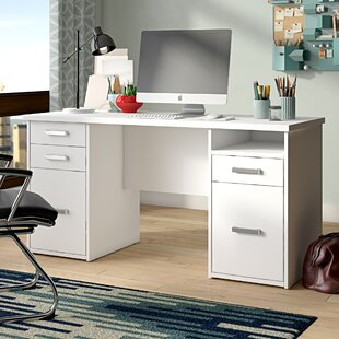 Conrad Computer Desk by Ebern Designs Read Reviews