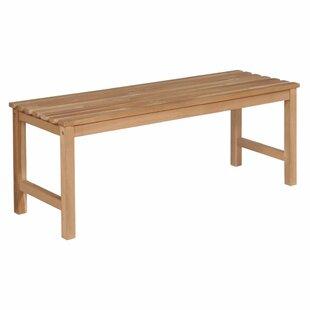 Biwabik Teak Bench By Sol 72 Outdoor