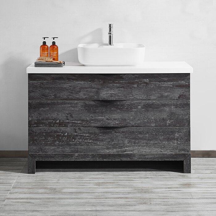 Kelsey 48 Single Bathroom Vanity Set