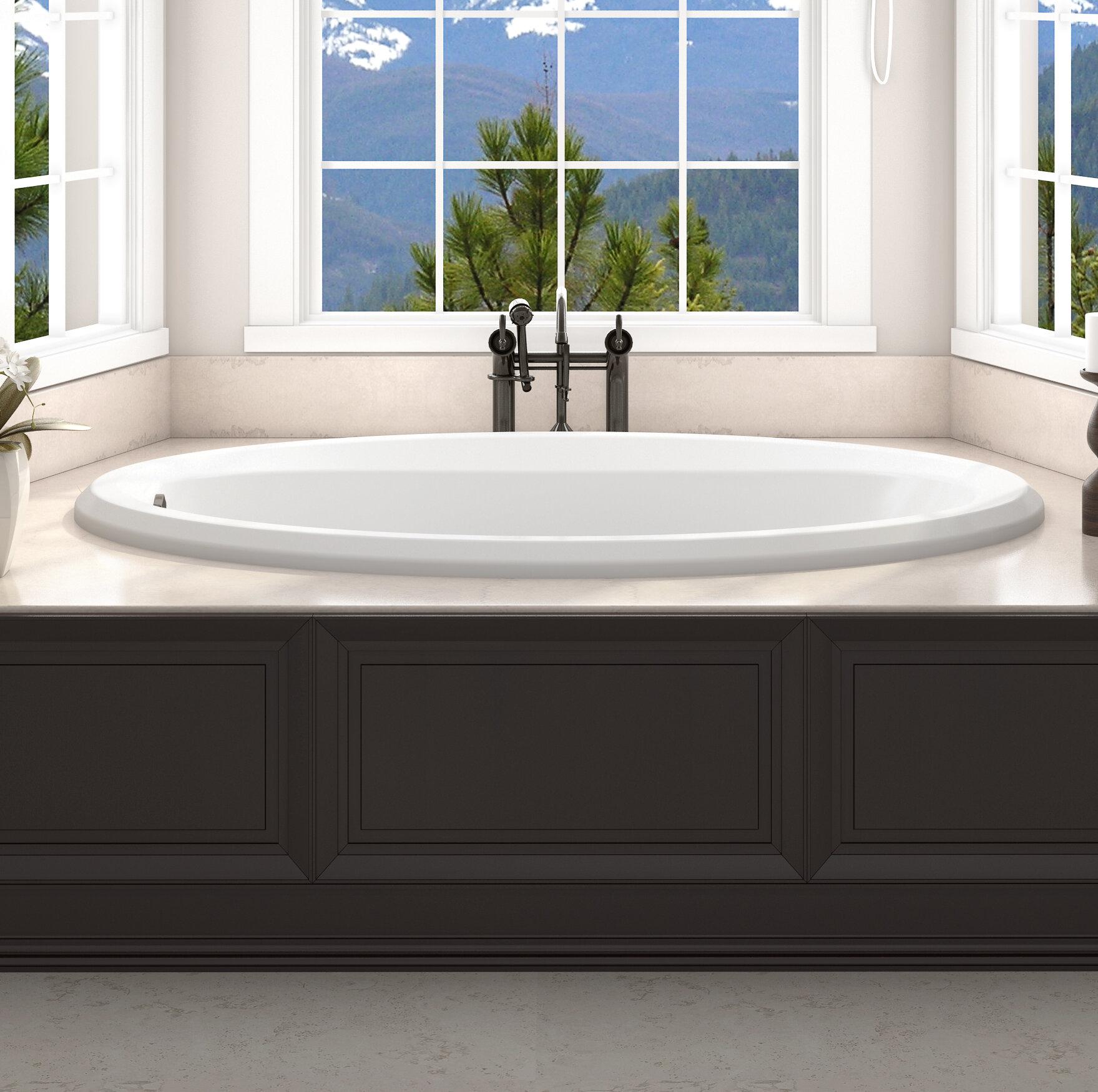 Jacuzzi Whirlpool Jacuzzi.Signature 60 X 36 Drop In Whirlpool Bathtub