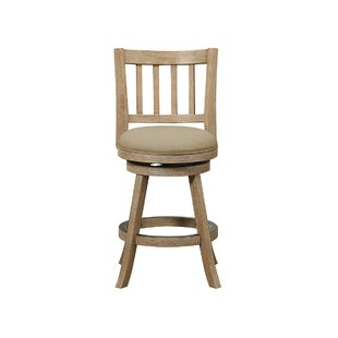 Appomattox 24 Swivel Bar Stool Three Posts