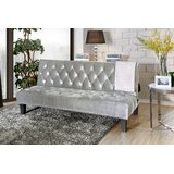 Gumbs Full Tufted Back Convertible Sofa by Alcott Hill®