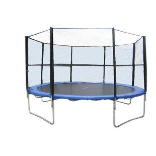 Newacme LLC 12' Trampoline with Enclosure Net