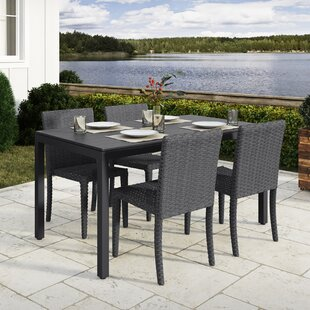 Rosecliff Heights Killingworth 5 Piece Outdoor Dining Set