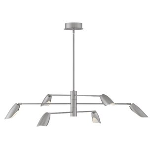 Fredrick Ramond Bowery 6-Light Sputnik Chandelier