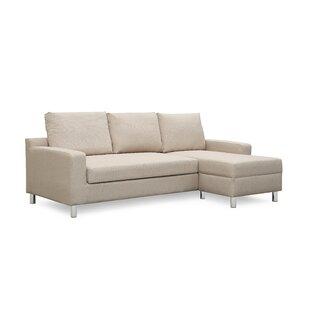 Ebern Designs Heckson Sleeper Sectional