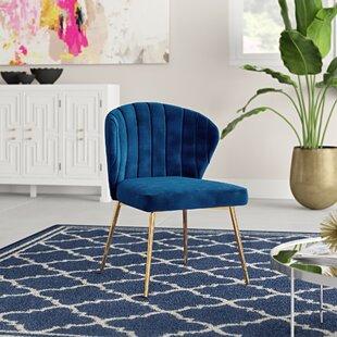 Daulton 20'' Wide Velvet Side Chair