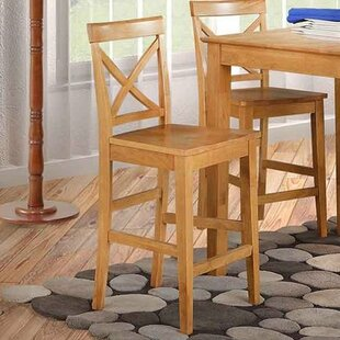 Two Sturdy Solid Wood Dining Chair (Set of 2)