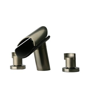 LaToscana Morgana Widespread Lavatory Faucet with Wenge Spout