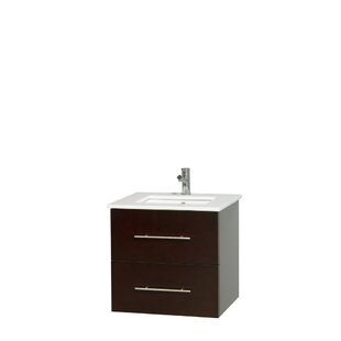 Comparison Centra 24 Single Bathroom Vanity By Wyndham Collection