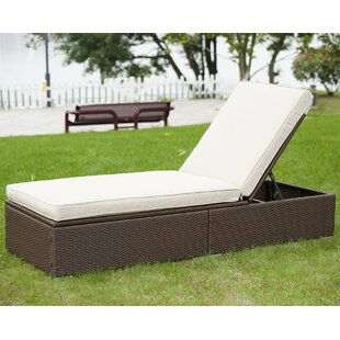 Bayou Breeze Kring Chaise Lounge with Cushion